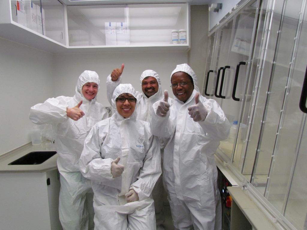 2014 SA Clean lab