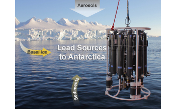 Decreasing of the industrial lead contamination in the Amundsen Sea area