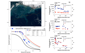 Shelf sediment dissolved iron source via non-reductive dissolution in the Gulf of Alaska