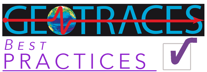 GEOTRACES Best Practices logo